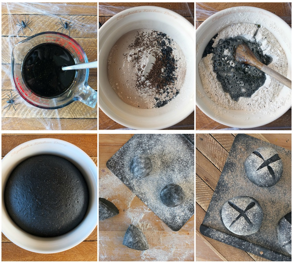 How to make Black Bread