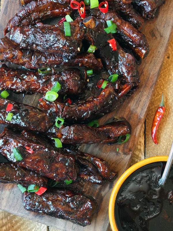 Crock-Pot® Slow Cooker Peking-Style Pork Ribs
