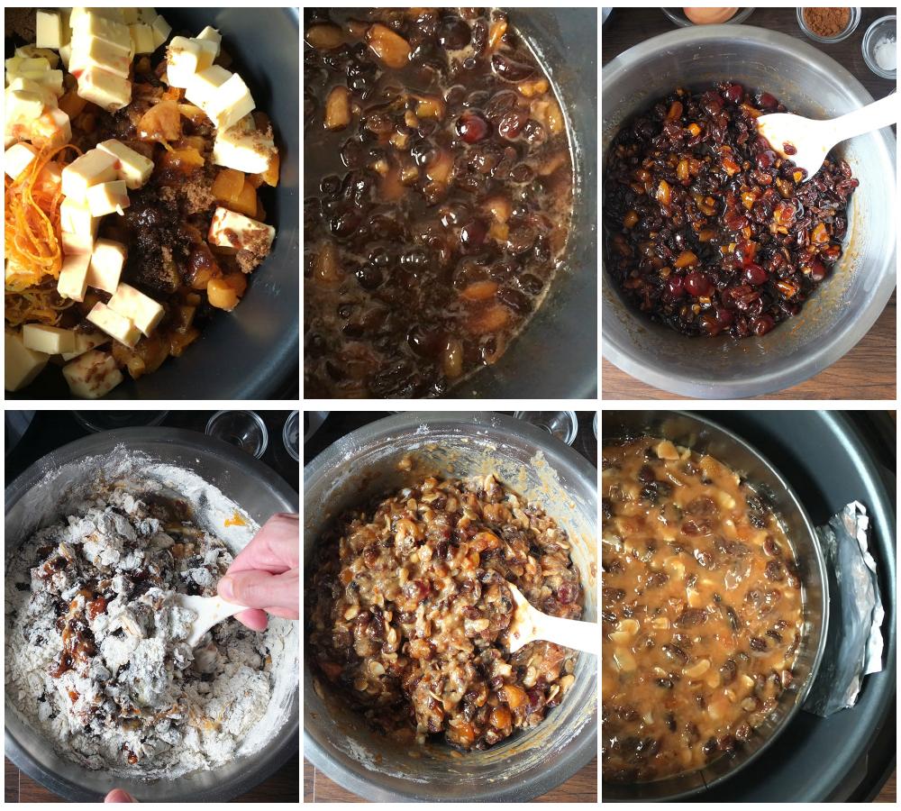 how to make pressure cooker christmas cake