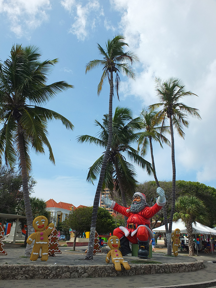 Christmas in Willemstad Curacao