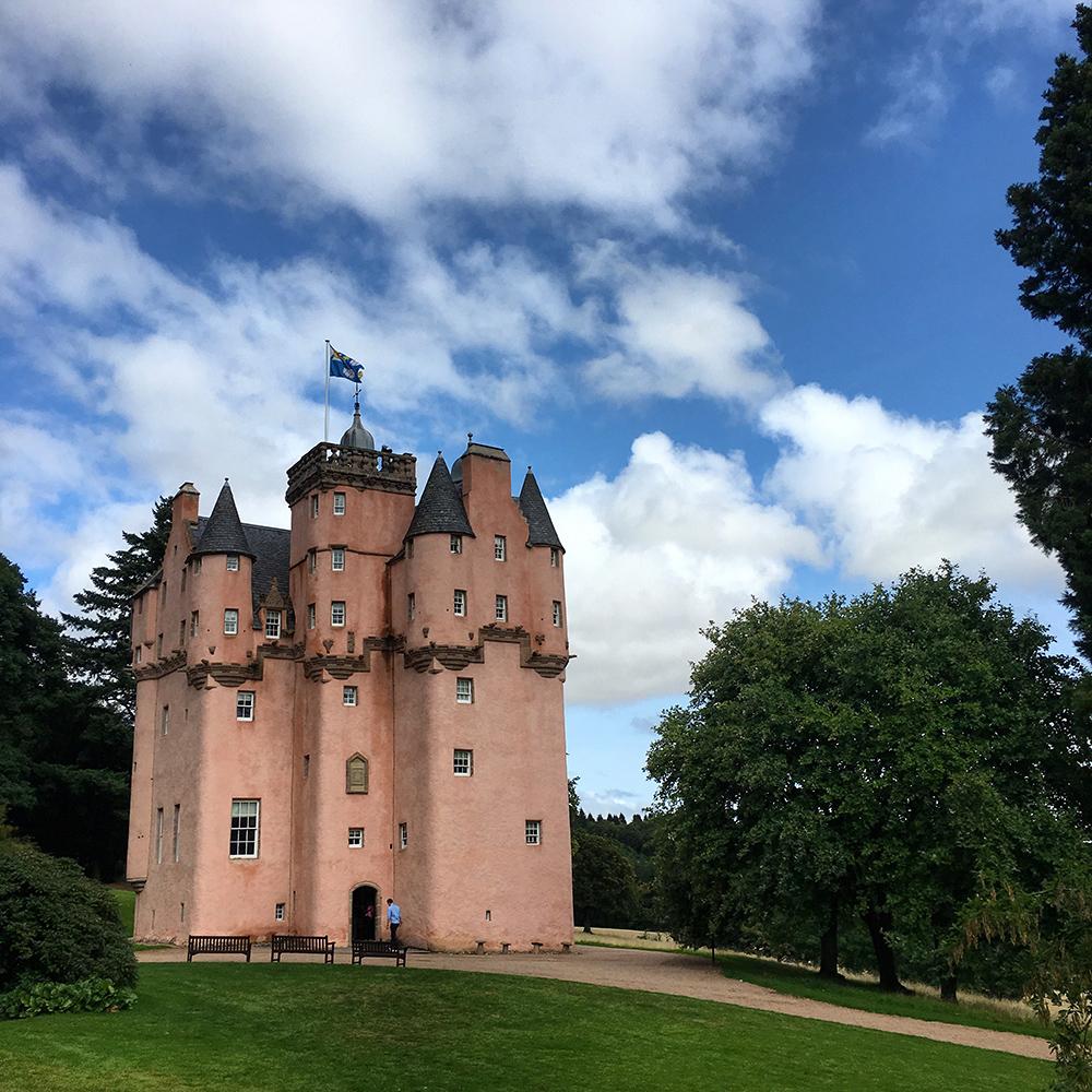 Craigievar Castle - Scotland's Pink Fairy-tale Castle