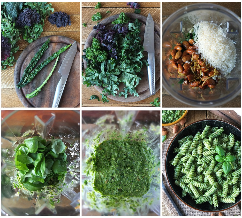 How to make Kale and Almond Pesto