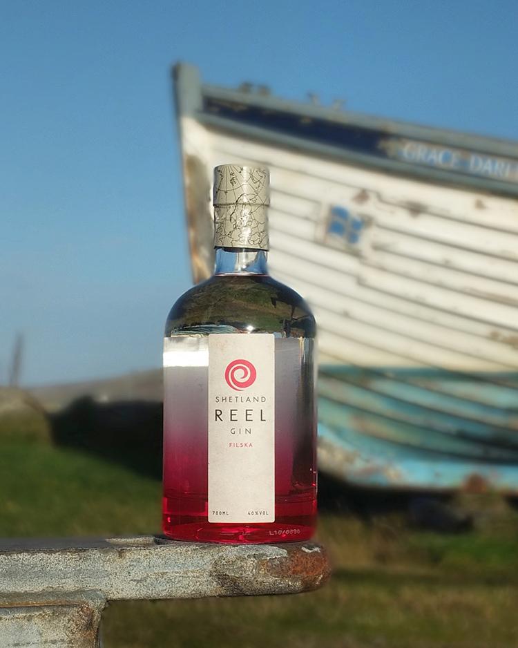 Shetland Reel Gin Filska