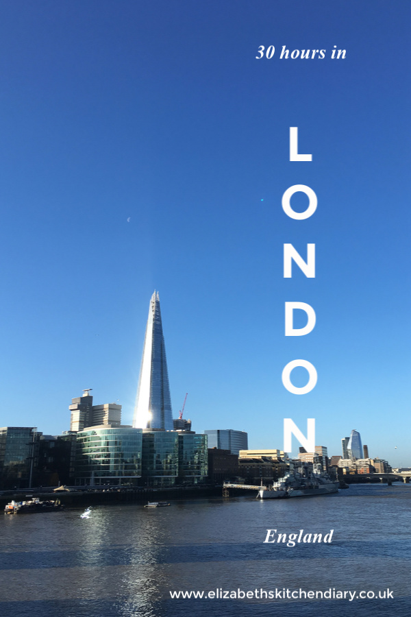 How we spent 30 Hours in London #travel #London #England