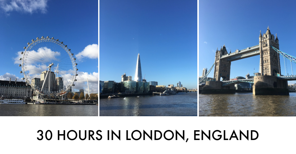 30 Hours in London