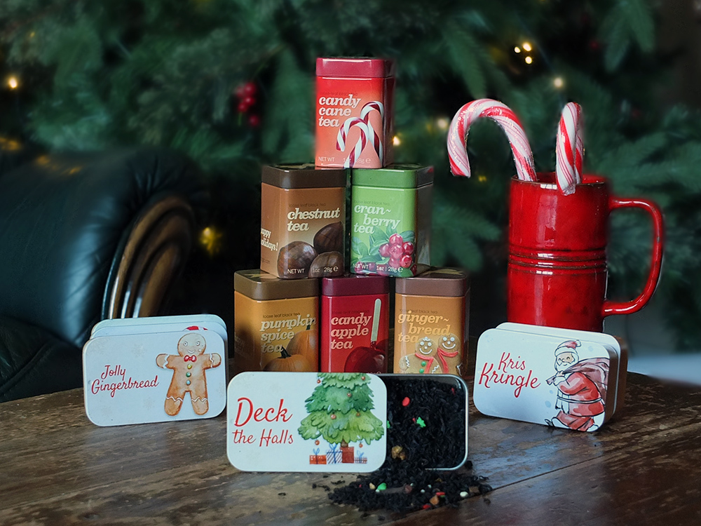 Adagio Tinsel Teas & other Christmas teas