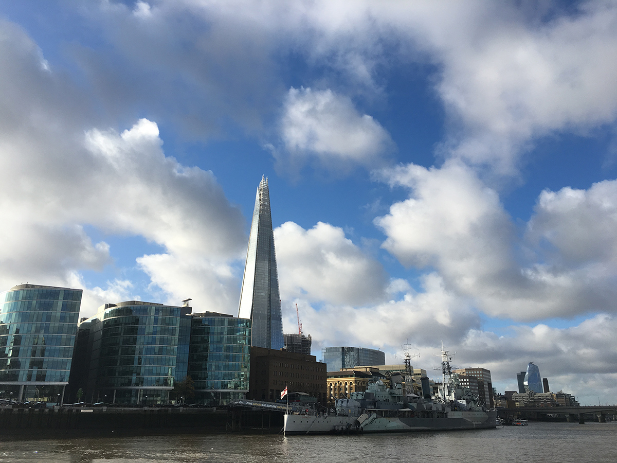 HMS Belfast London Thames