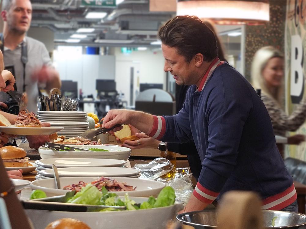 Jamie Oliver Headquarters London