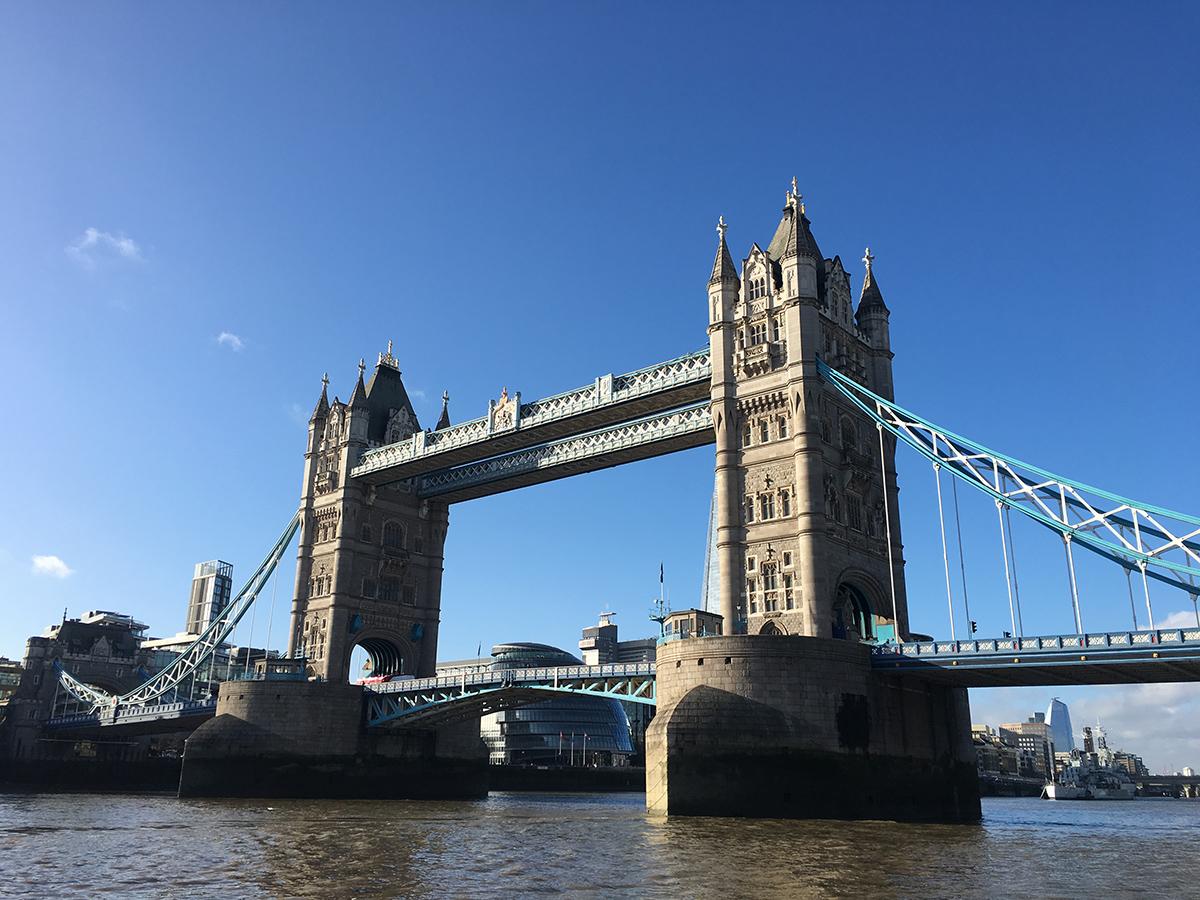 London Tower Bridge November 2018