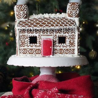 Shetland Croft Gingerbread House