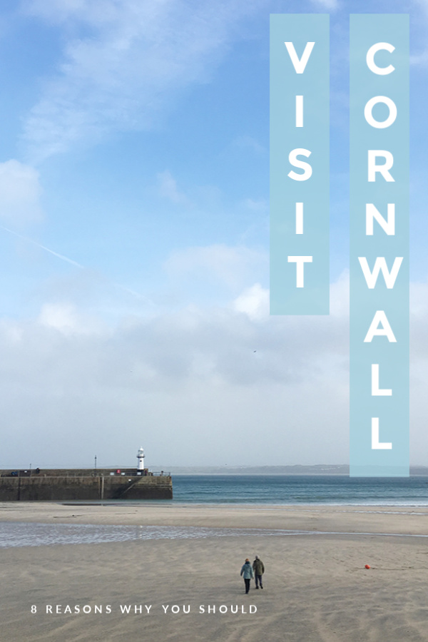 8 Reasons to Visit Cornwall #travel #cornwall #stives #landsend