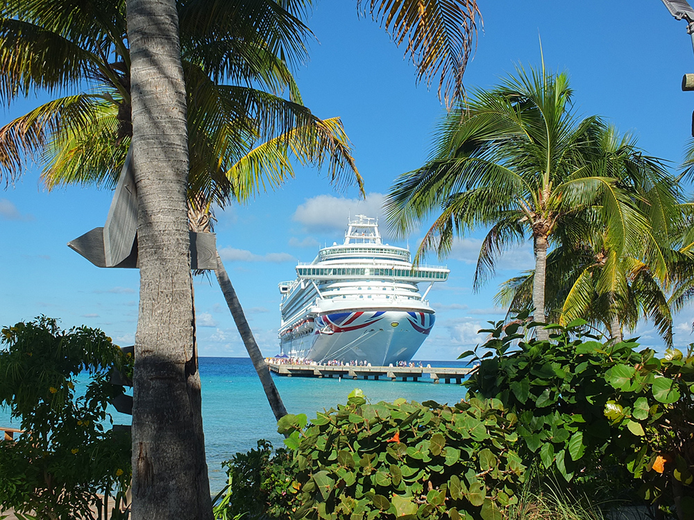 Azura Cruise Ship Grand Turk