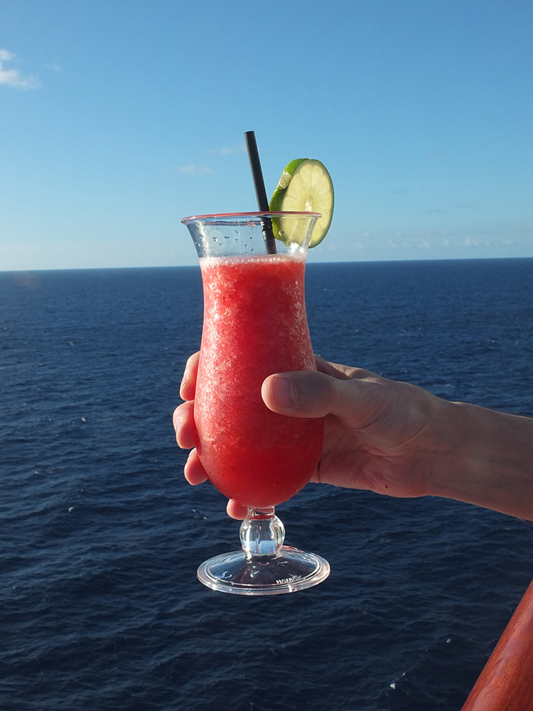 Cocktail of the Day on the Azura