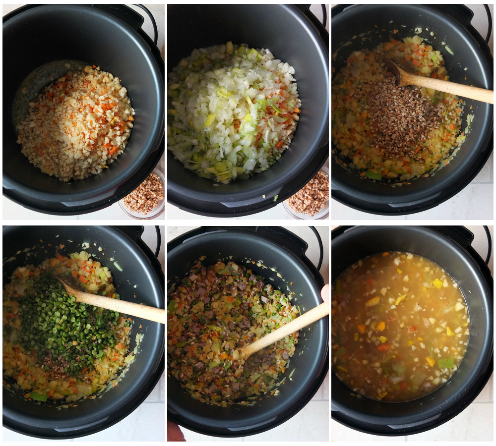 How to make lamb soup