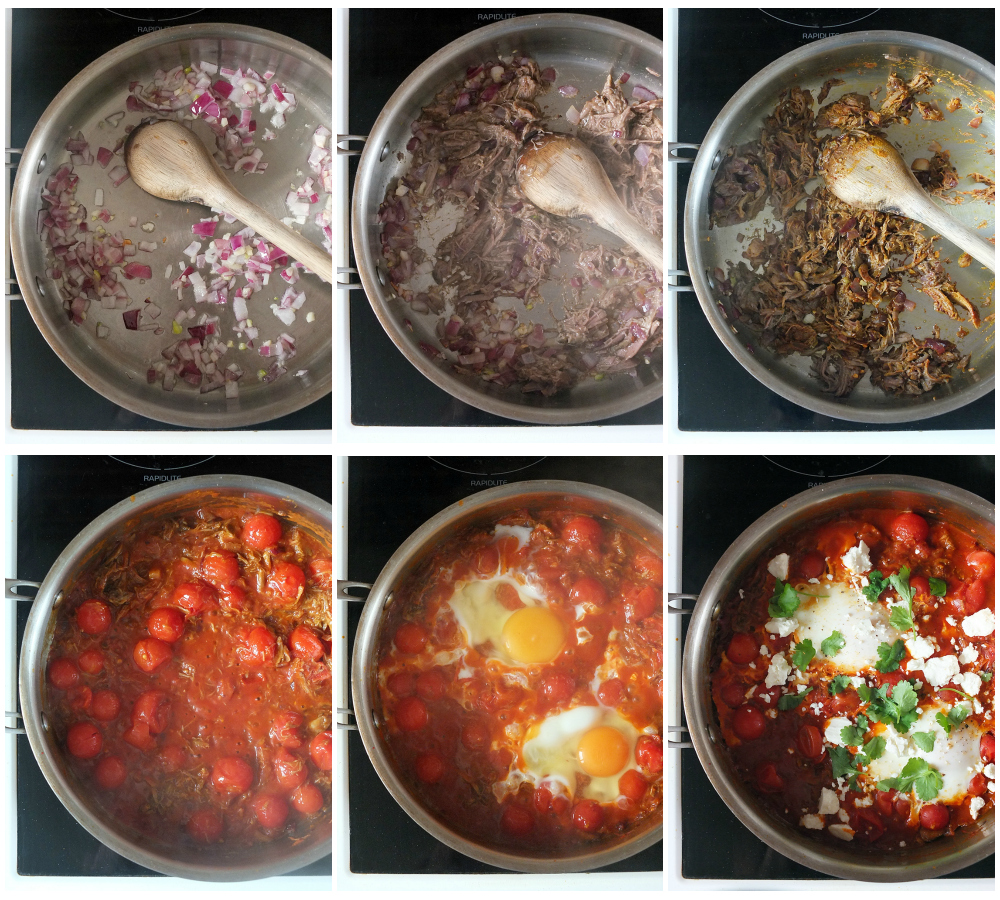 How to make lamb shakshuka for two