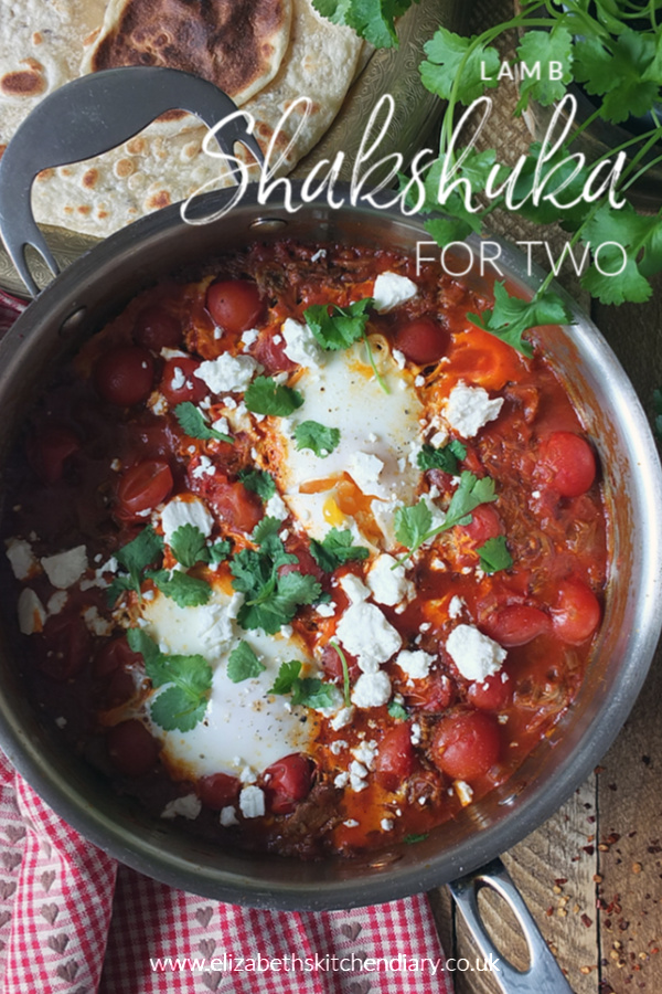 Lamb Shakshuka for Two #valentinesday #breakfast #lamb #valentines