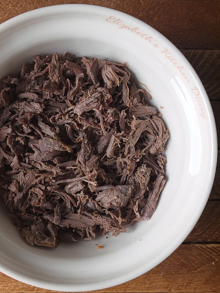 Shredded Slow Cooker Harissa Lamb