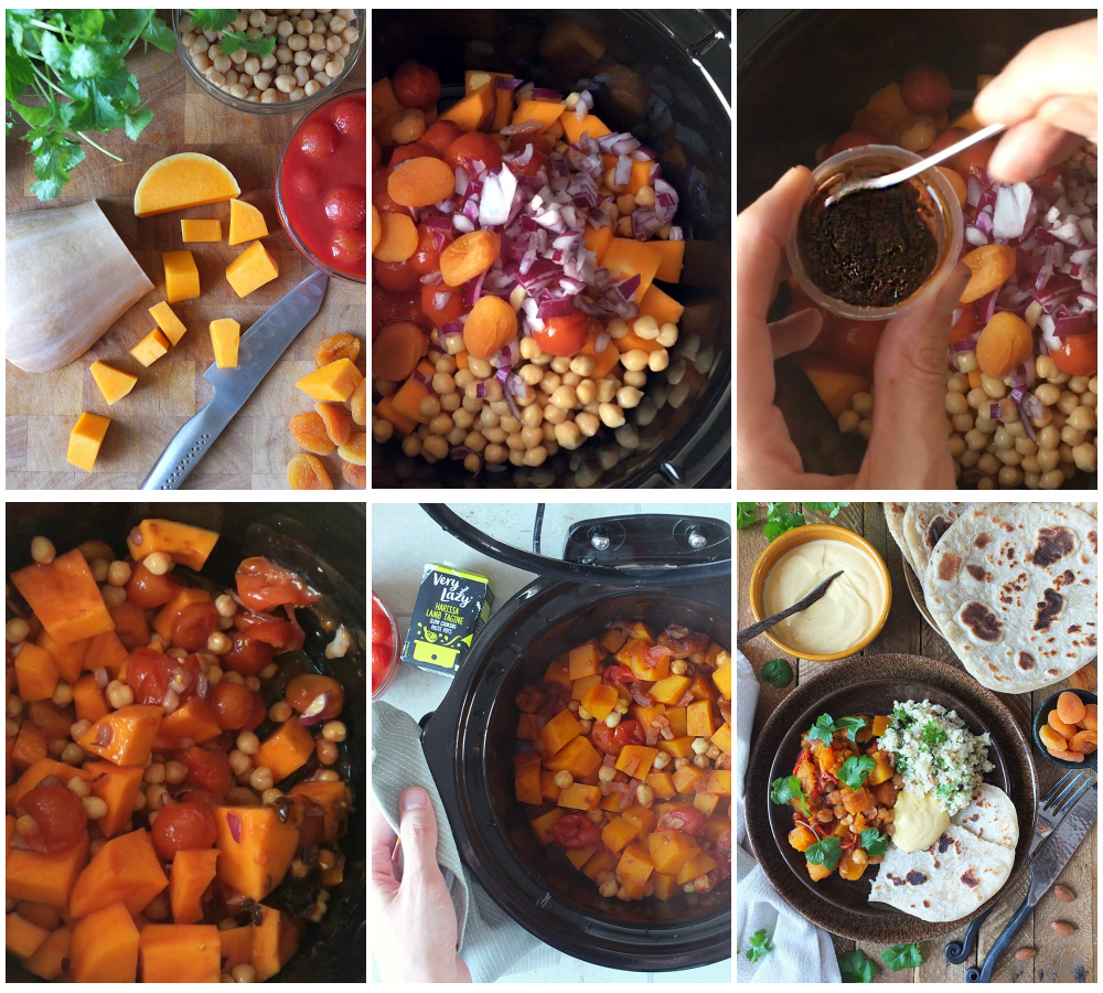 how to make harissa butternut stew