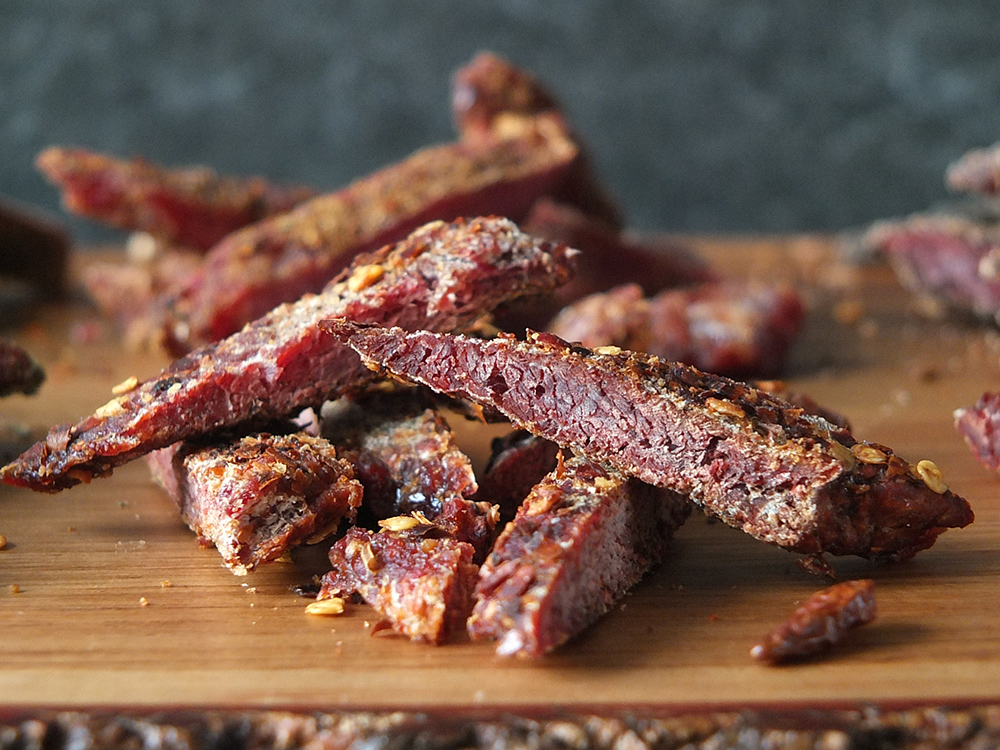Chilli and Lime Lamb Jerky