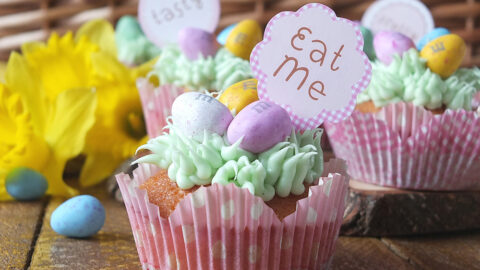 Easy Easter Egg Hunt Cupcakes | Elizabeth's Kitchen Diary