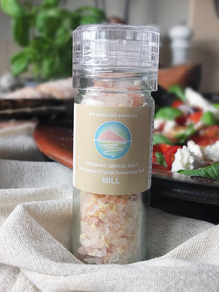 Good Salt Company Garlic Salt Mill