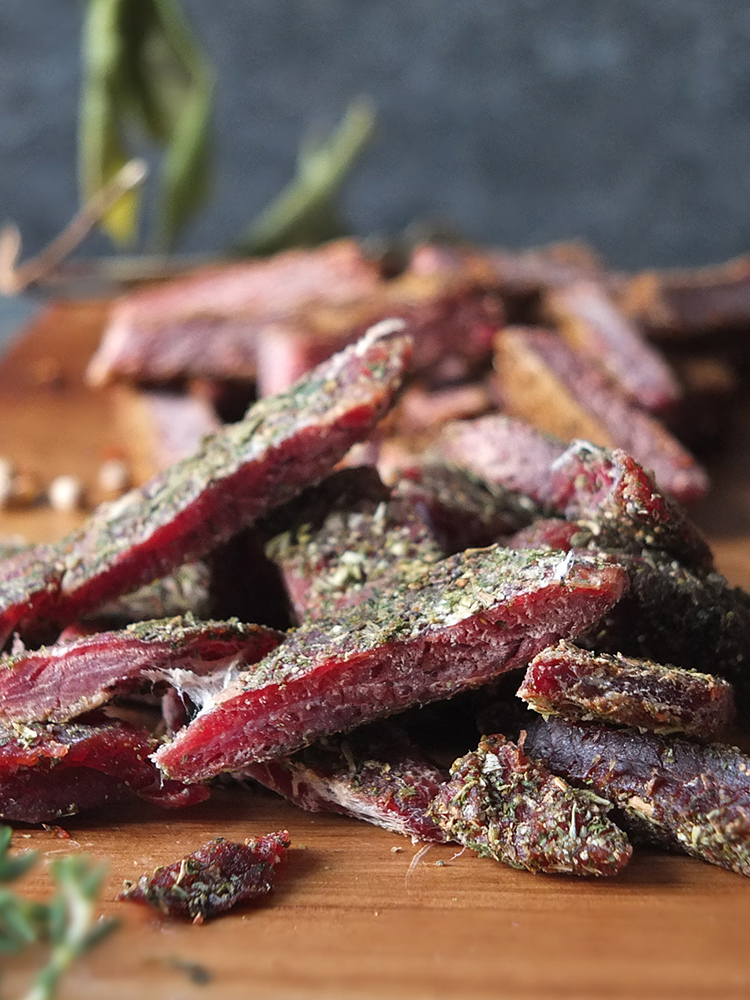 Make your own Lamb Jerky
