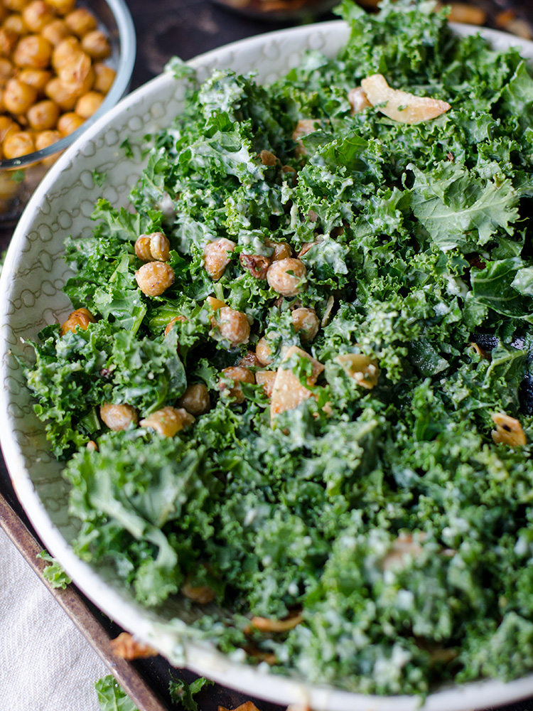 Kale Salad image from Unsplash