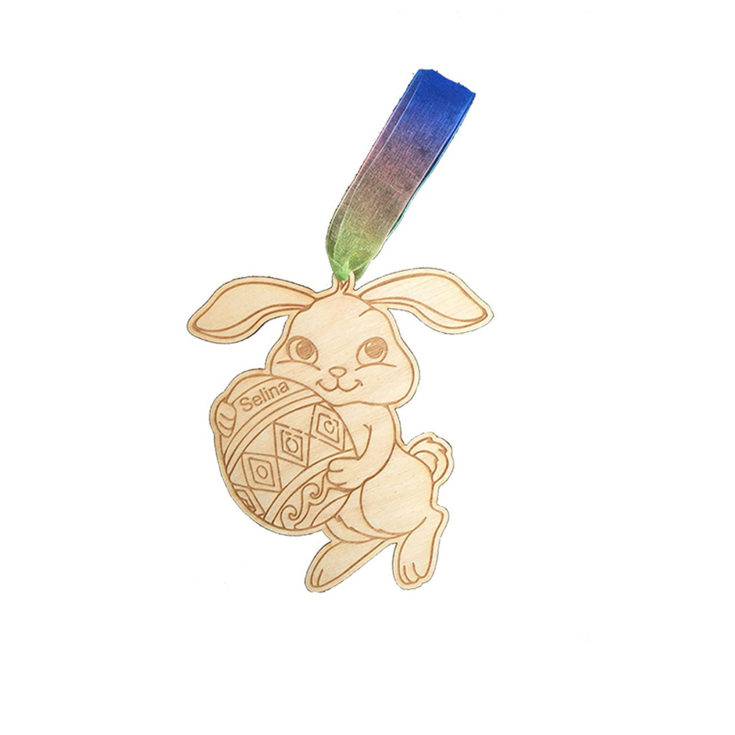 Personalised Easter Bunny Decoration £4.95