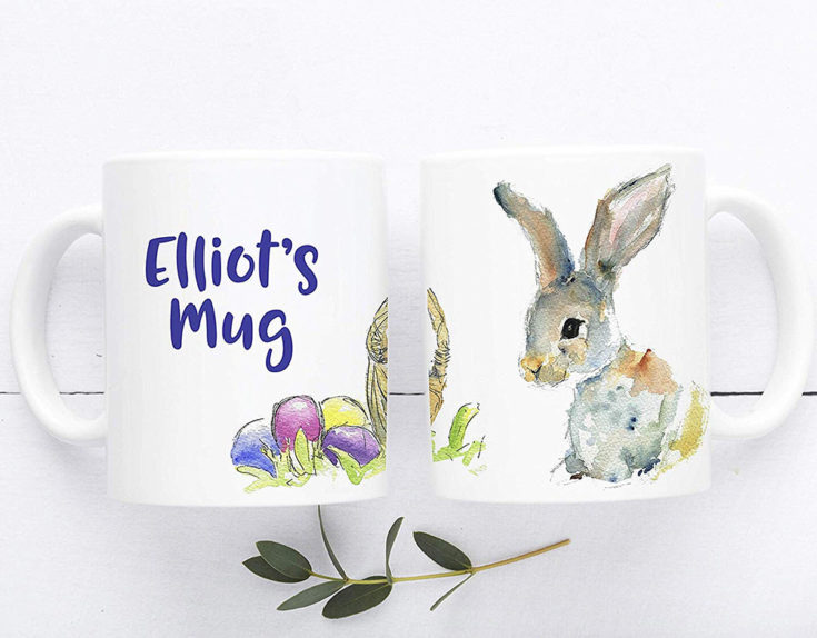 Personalised Easter Bunny Mug £11.99