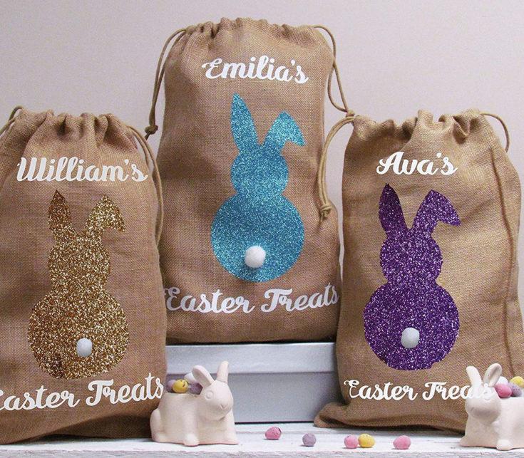 Personalised Easter Treat Bag £13.99