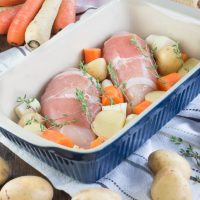 Easy One-Tray Roast Chicken