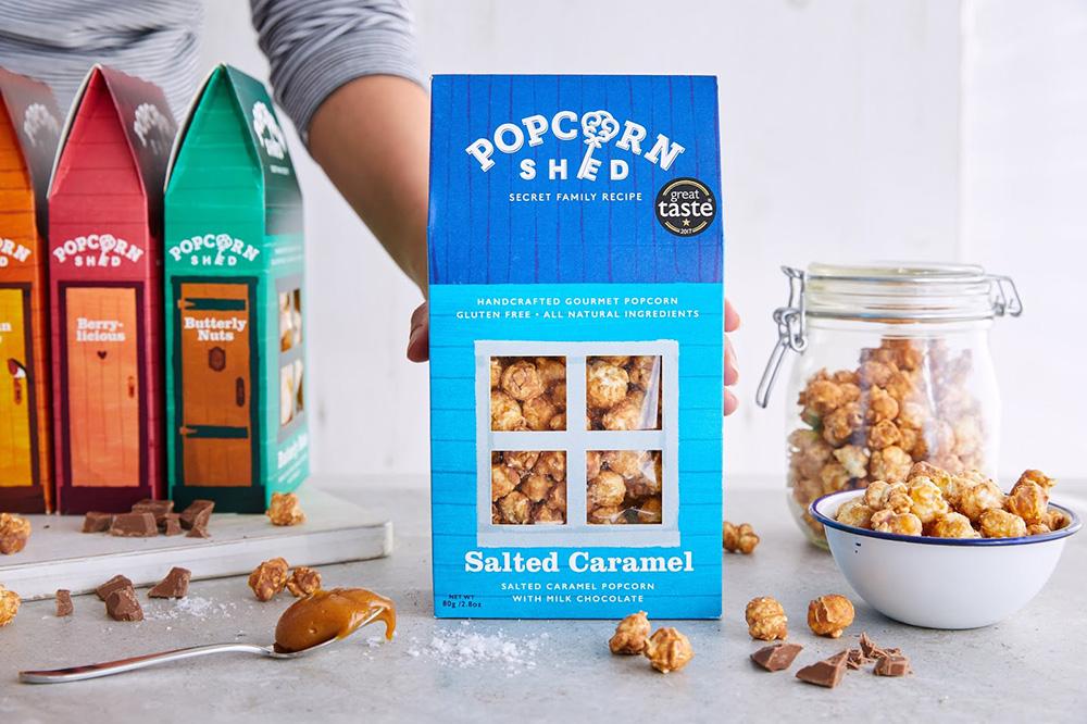 Popcorn Shed salted caramel