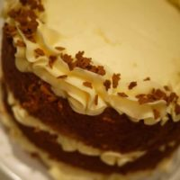 Gingerbread Latte Layer Cake