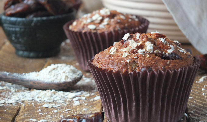 Date and Oat Muffins